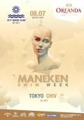 «Maneken swim week» в «City beach club»