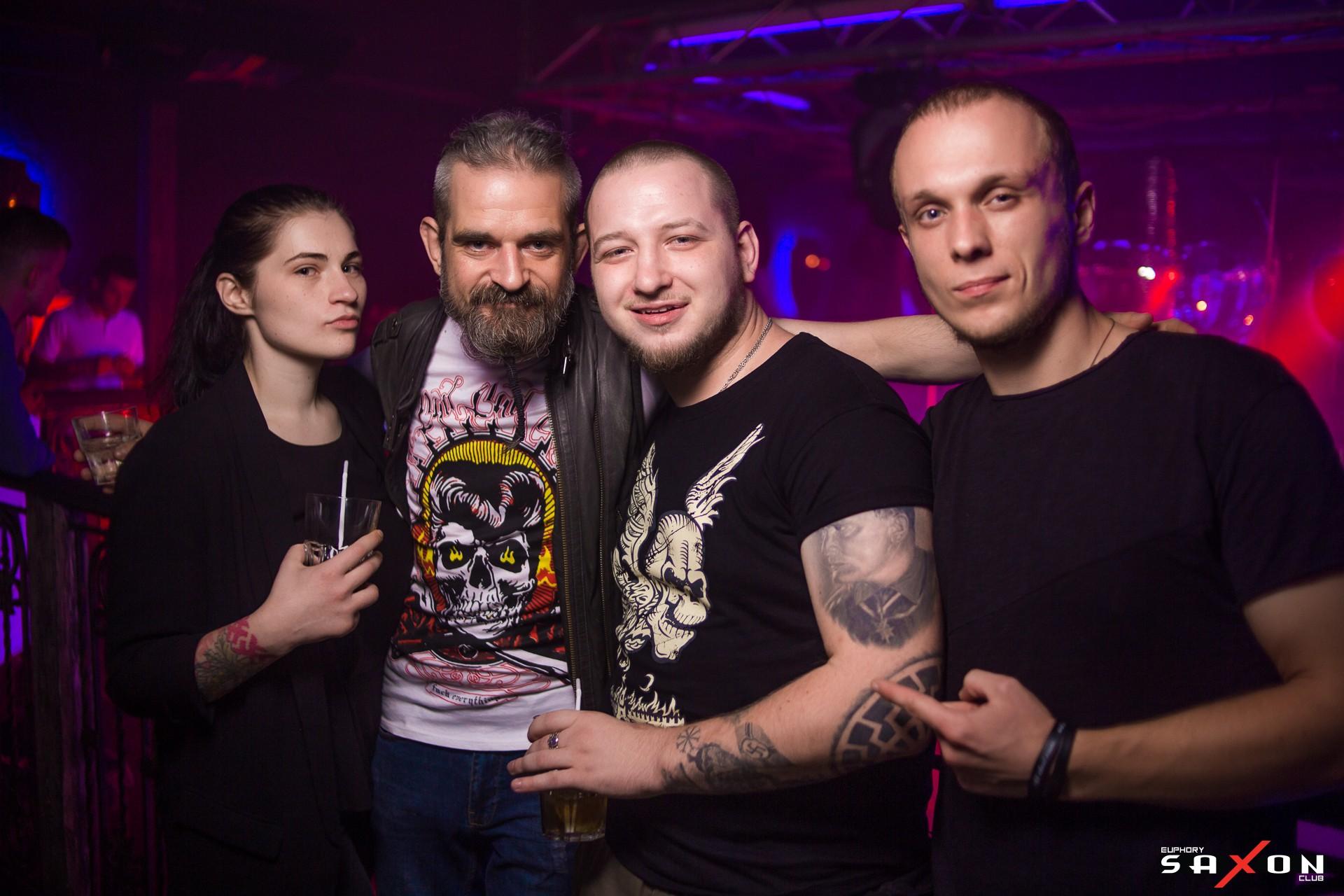 «Rave On: Loco & Jam» в «Saxon»