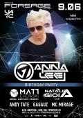 Вечеринка «Anna Lee birthday» в «Forsage»