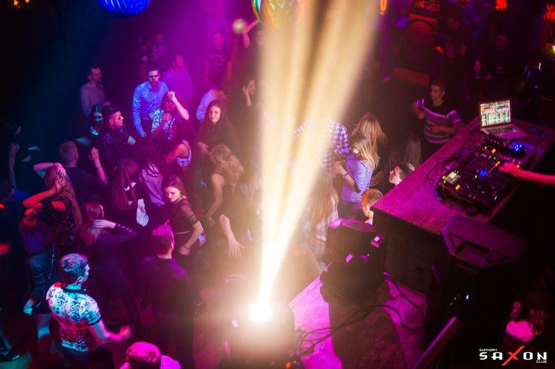 Вечеринка «Circus Night Show» в клубе «Saxon»