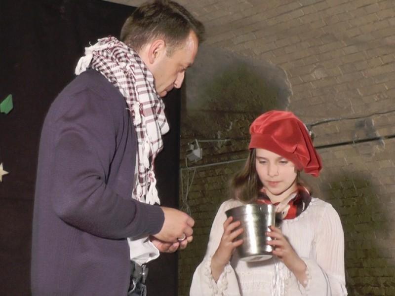 Спектакль «Маленький принц» в «Киевской крепости»