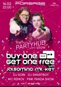 PartyHub show ft. BuyOneGetOneFree в «Forsage»