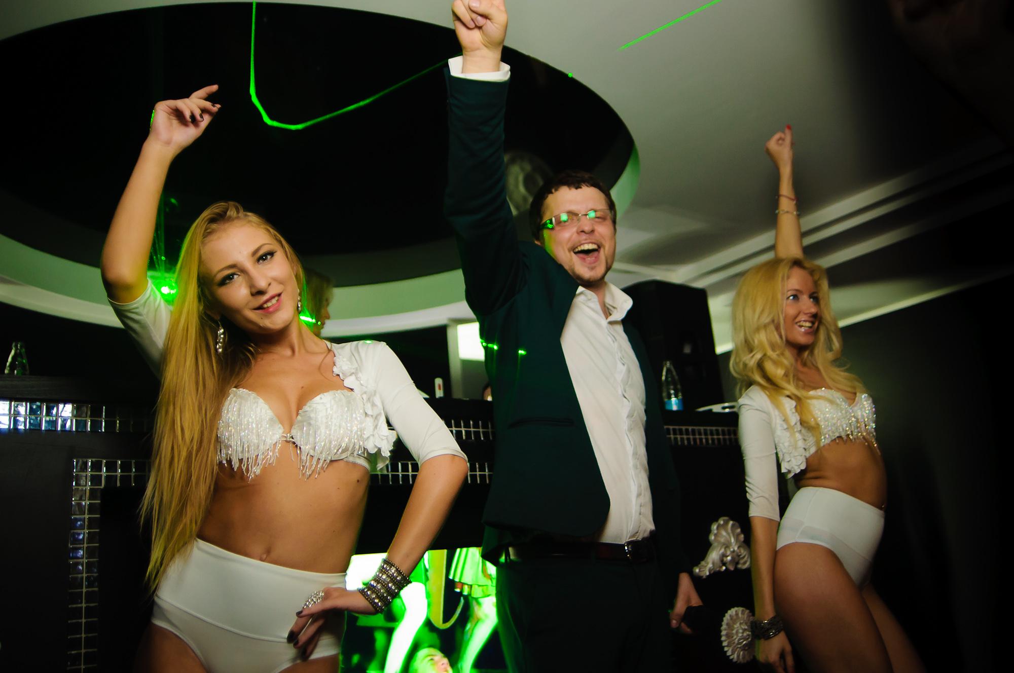 Открытие нового ночного клуба FRANKLIN
