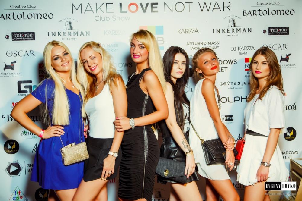 Make Love — Not War