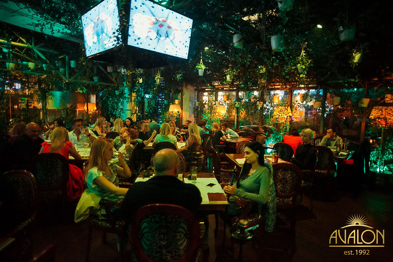 Weekend в лаунж-баре «Avalon»