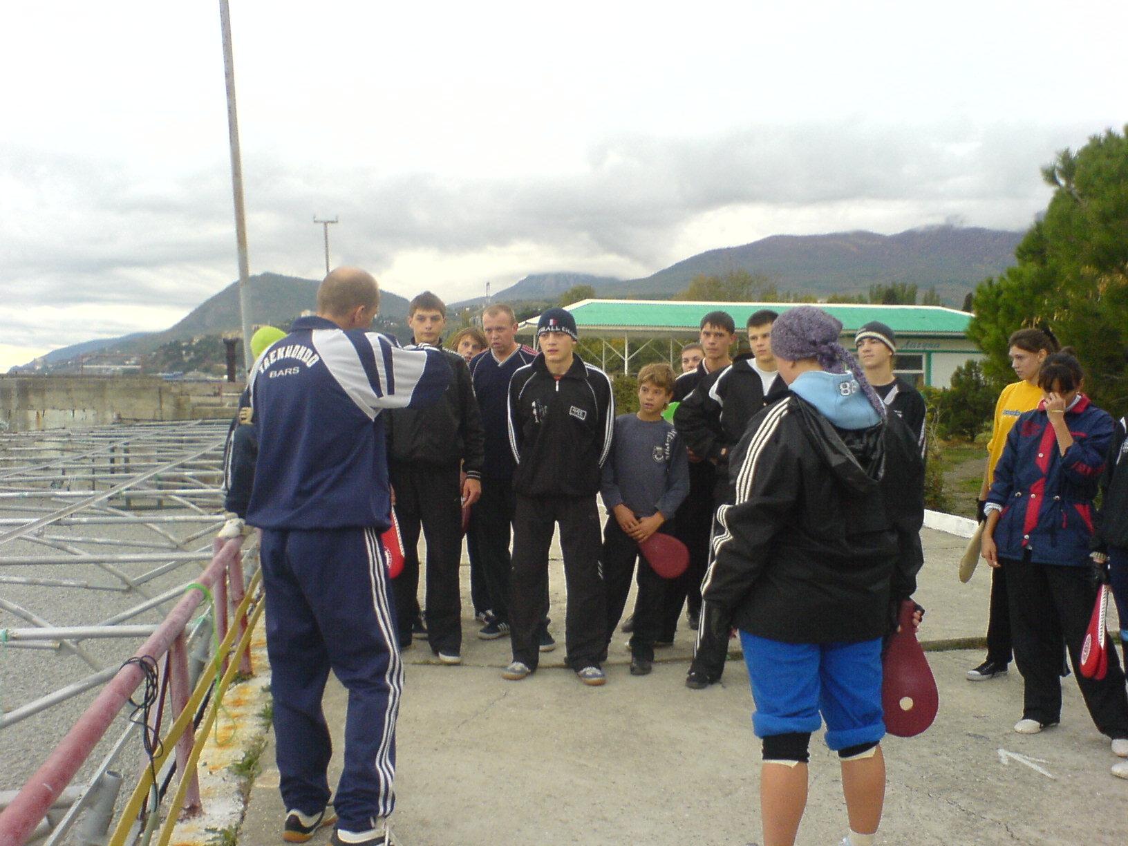Учебно-тренировочный сбор СК Барс