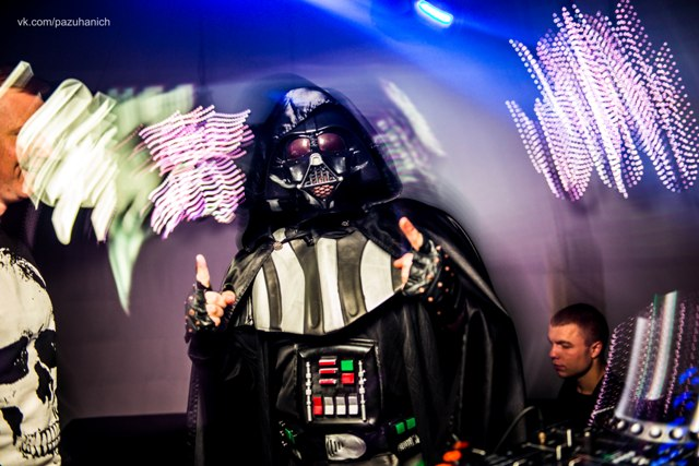 Darth Vader в Happy Place