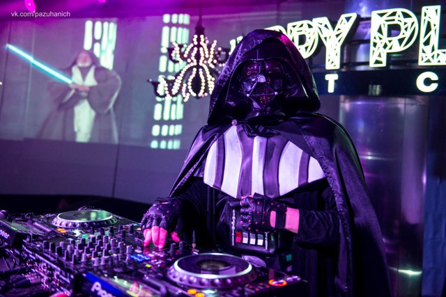 Darth Vader в Happy Place