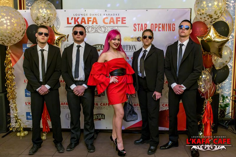 Grand Opening L'KAFA cafe
