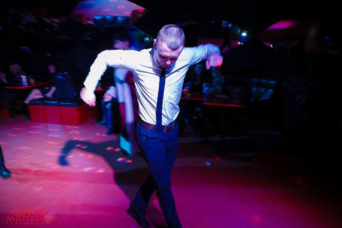 Репетиция Нового Года в клубе «Amsterdam»