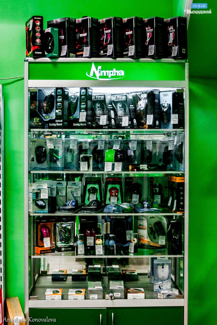Мережа магазинів «Цифровий світ Nimpha»