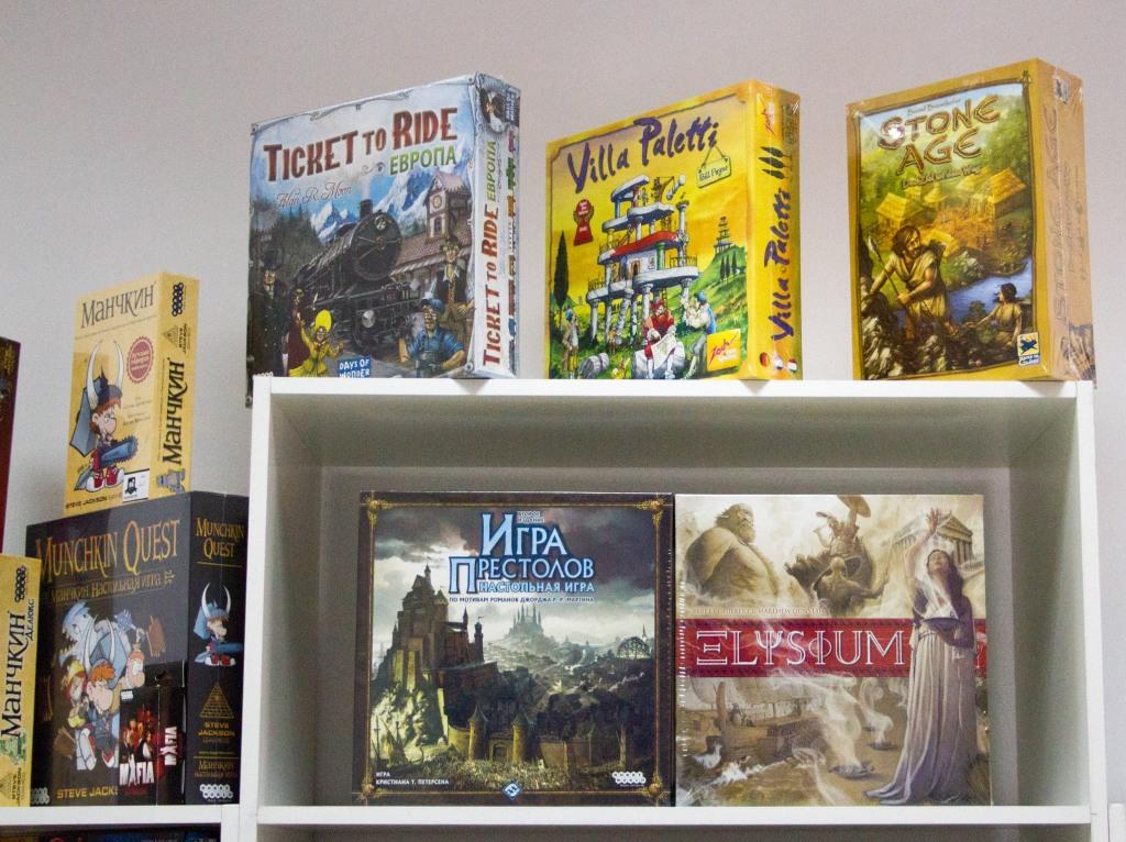 Магазин настільних ігор «QUESTY»