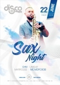 Sax night в «Disco radio hall»