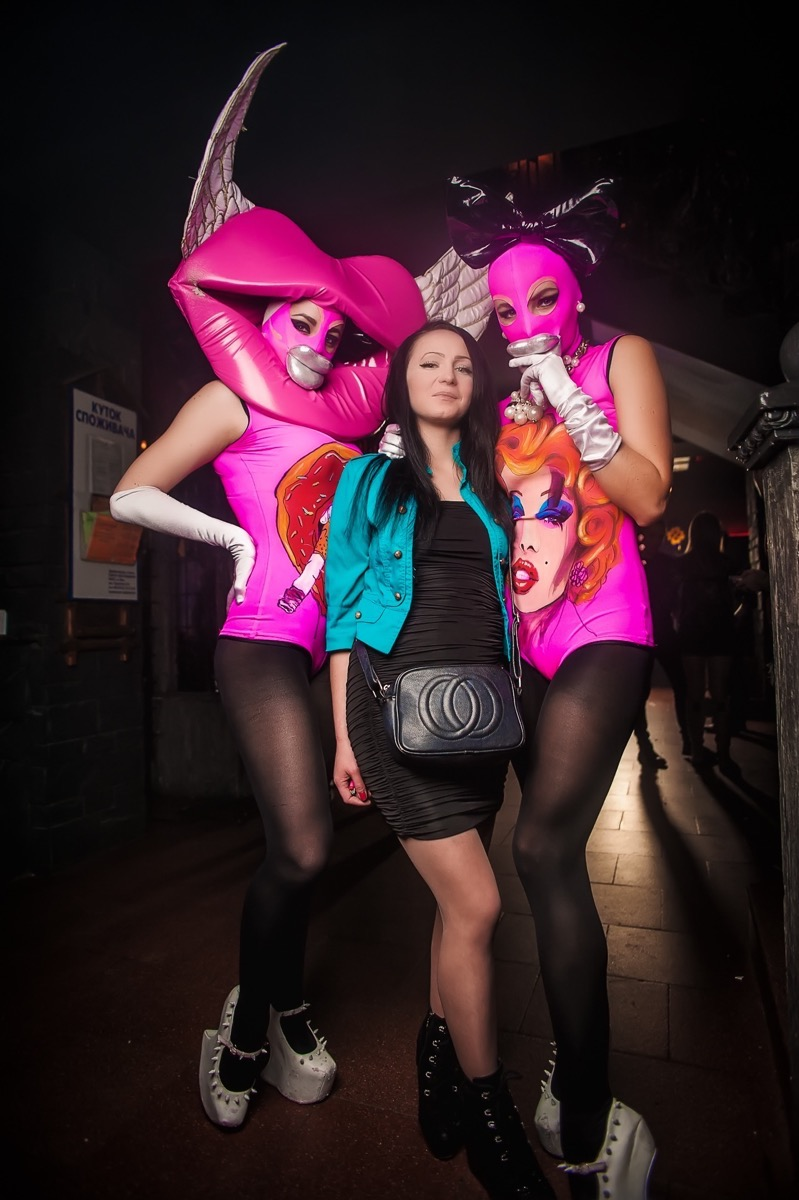 «Colors of Love» в клубе «Saxon»