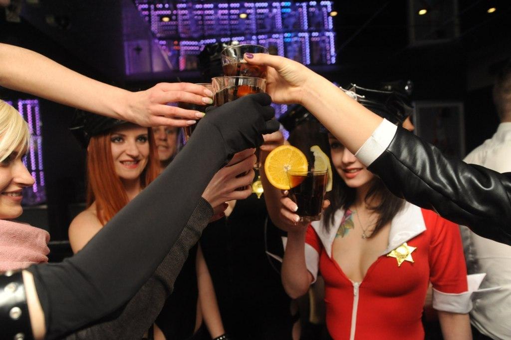 Полицейская вечеринка в strip - disco Chicky&Picky