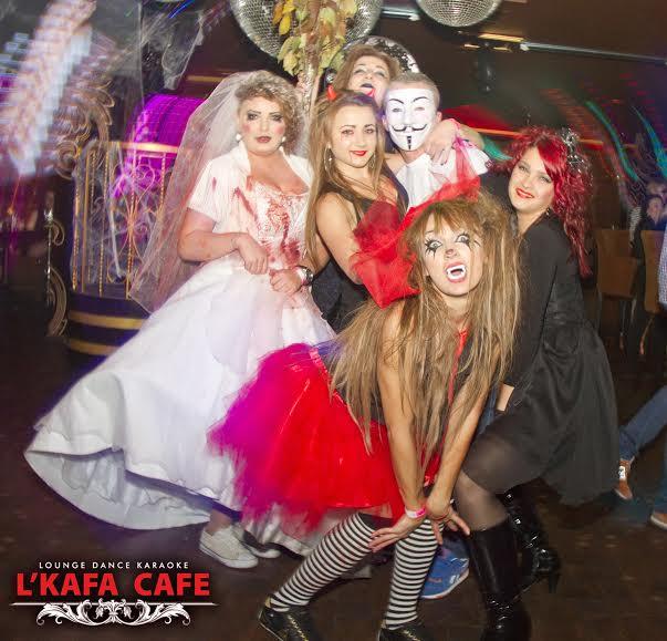 «Halloween Nightmare» в «L`Kafa cafe»